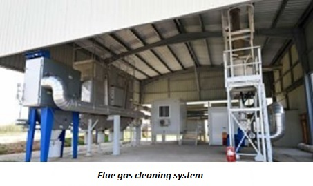 photo of flue gas scrubbing system